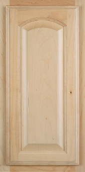 Florence Arch Maple Door