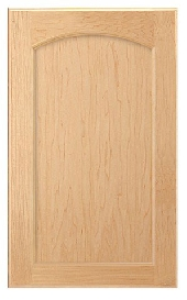 Adams Arch Maple Door