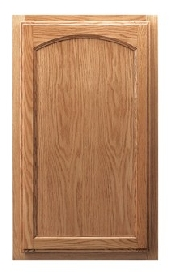 Hartford Arch Hickory Door
