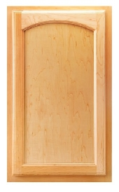 Hartford Arch Maple Door